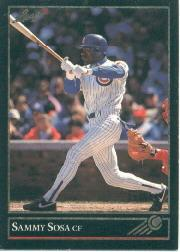 1992 Leaf Black Gold #412 Sammy Sosa