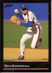 1992 Leaf Black Gold #419 Dick Schofield
