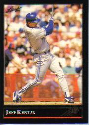 1992 Leaf Black Gold #445 Jeff Kent