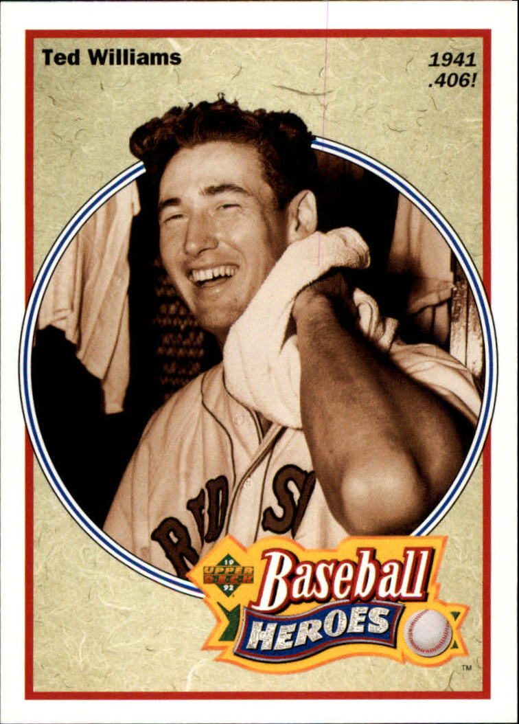 1992 Upper Deck Williams Heroes #29 Ted Williams