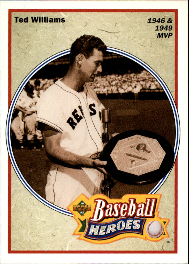 1992 Upper Deck Williams Heroes #31 Ted Williams