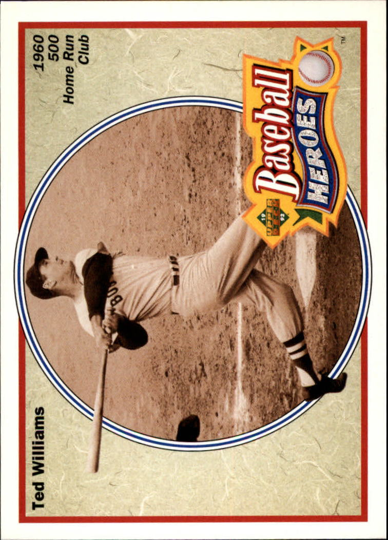1992 Upper Deck Williams Heroes #34 Ted Williams front image