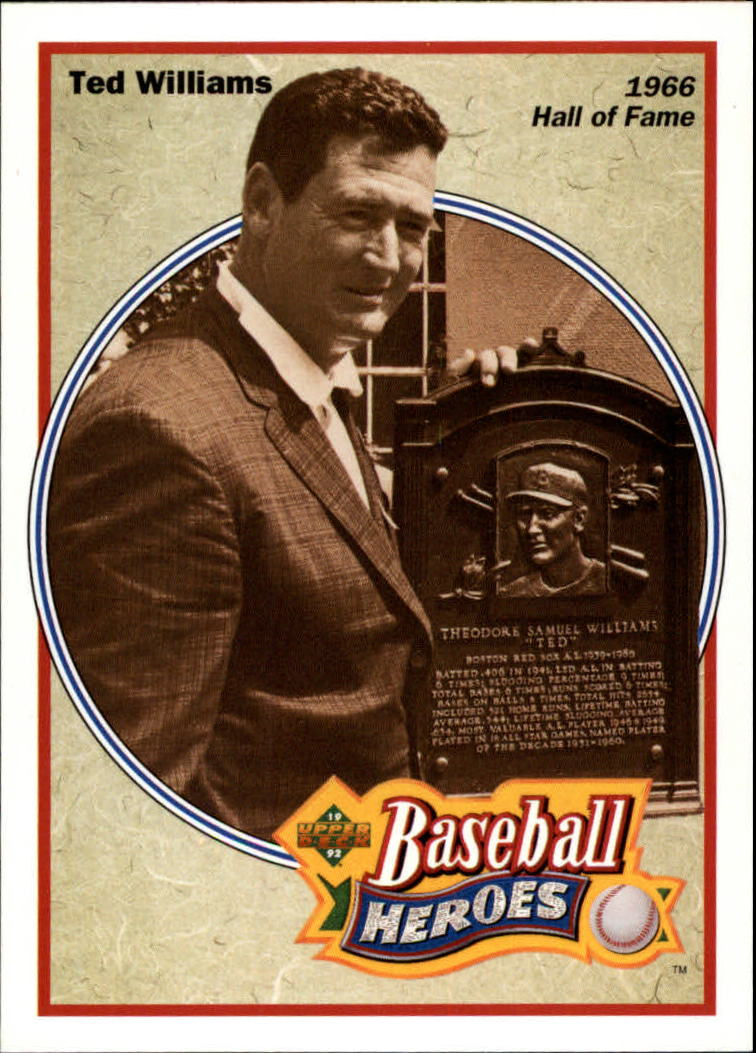 1992 Upper Deck Williams Heroes #35 Ted Williams front image