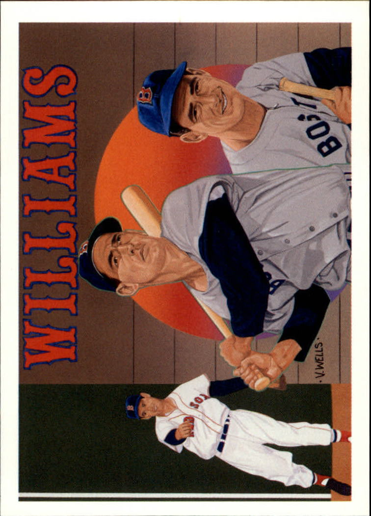1992 Upper Deck Williams Heroes #36 Ted Williams CL