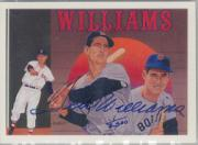 1992 Upper Deck Williams Heroes #AU4 Ted Williams AU/2500