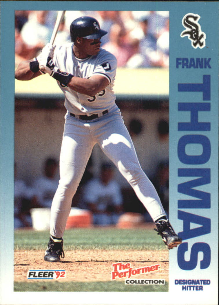 1992 Fleer Citgo The Performer #2 Frank Thomas