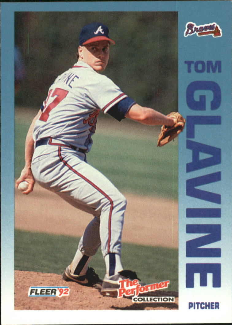 1992 Fleer Citgo The Performer #20 Tom Glavine