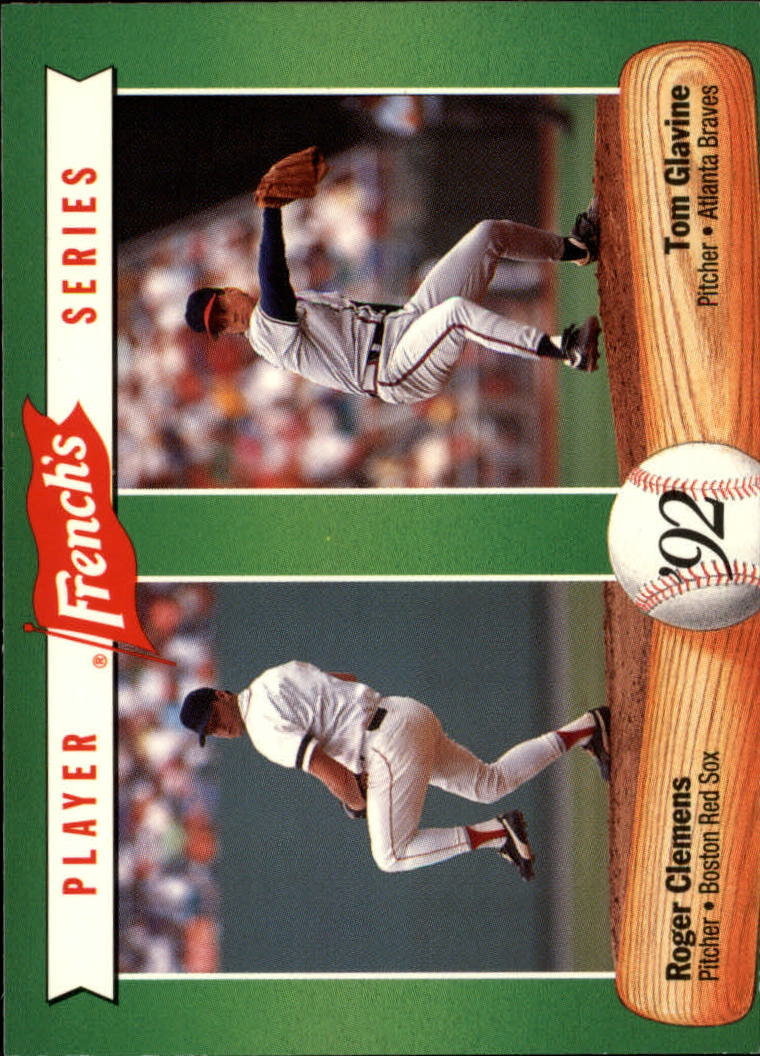 1992 French's #2 Roger Clemens/Tom Glavine