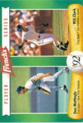 1992 French's #11 Don Mattingly/Will Clark
