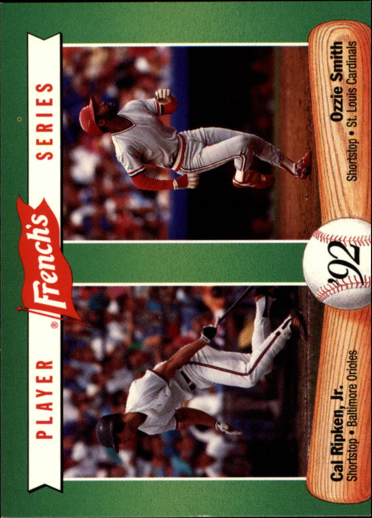 1992 French's #13 Cal Ripken/Ozzie Smith