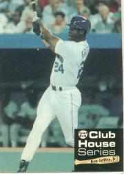 1992 Front Row Griffey Club House #1 Ken Griffey Jr./Background