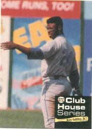 1992 Front Row Griffey Club House #4 Ken Griffey Jr./The Breakdown