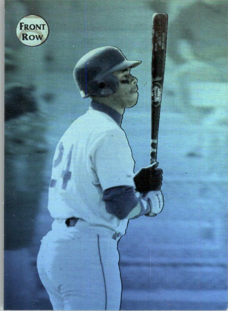 1992 Front Row Griffey Holograms #2 Ken Griffey Jr./Rewriting the Record Book