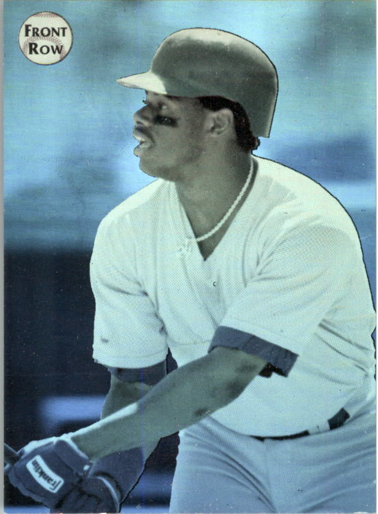 1992 Front Row Griffey Holograms #3 Ken Griffey Jr./Turning Up Gold