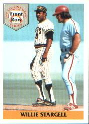1992 Front Row Stargell #3 Willie Stargell/3-Time MVP, 1979