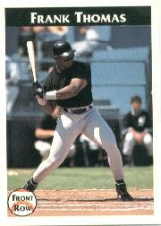1992 Front Row Thomas #1 Frank Thomas/A Good Start