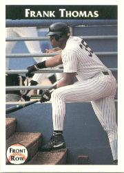 1992 Front Row Thomas #2 Frank Thomas/Multi-Talented
