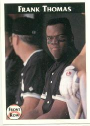1992 Front Row Thomas #6 Frank Thomas/Minor League Stats