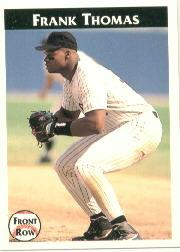 1992 Front Row Thomas #7 Frank Thomas/Major League Stats