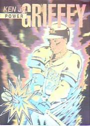1992 Griffey Arena Kid Comic Holograms #3 Ken Griffey Jr./Power