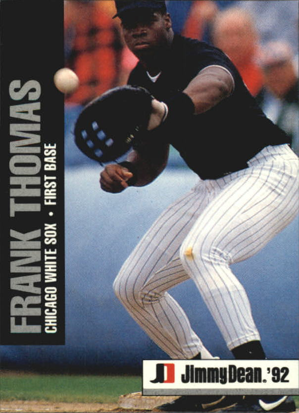 1992 Jimmy Dean #4 Frank Thomas