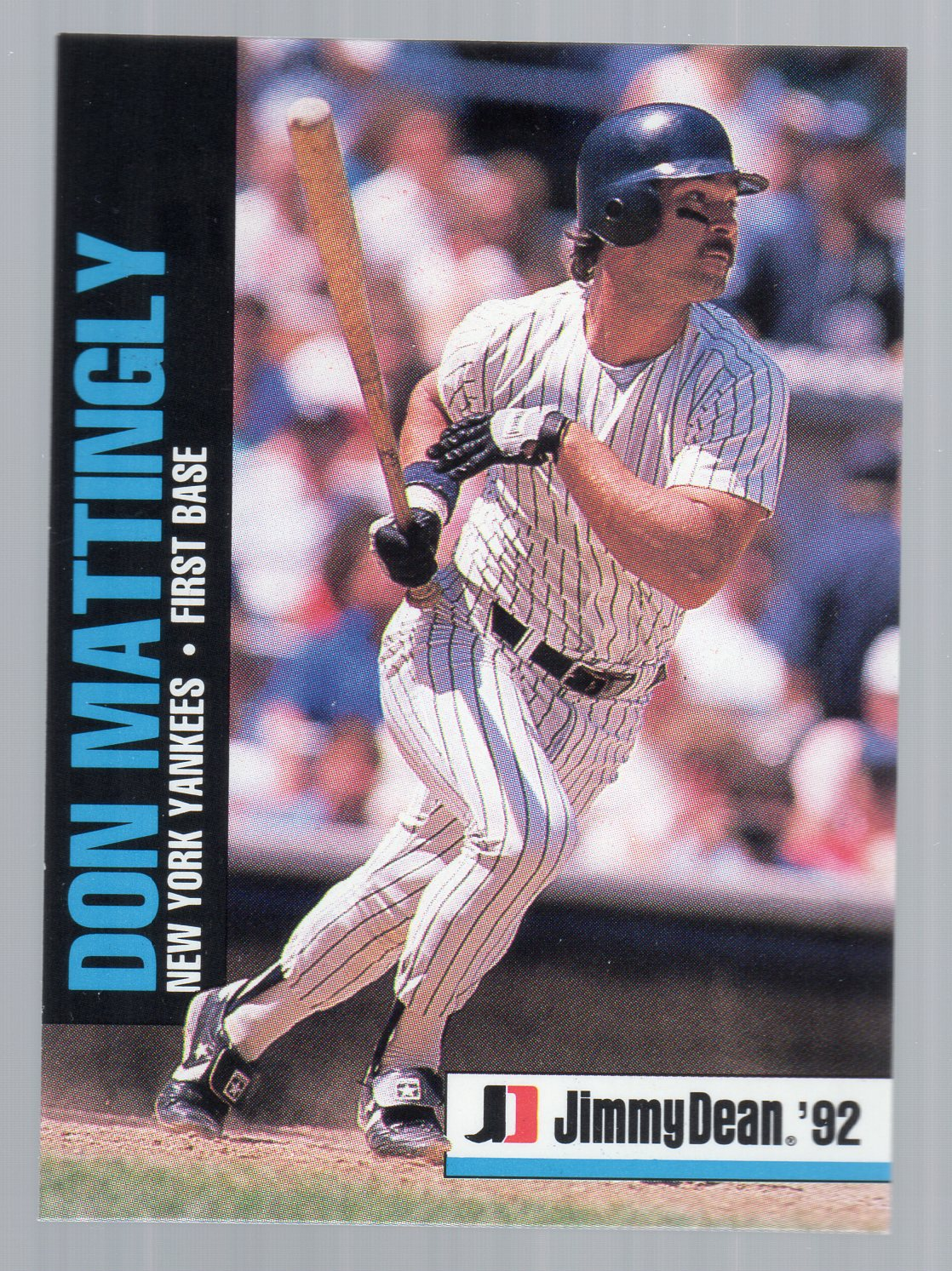 1992 Jimmy Dean #8 Don Mattingly