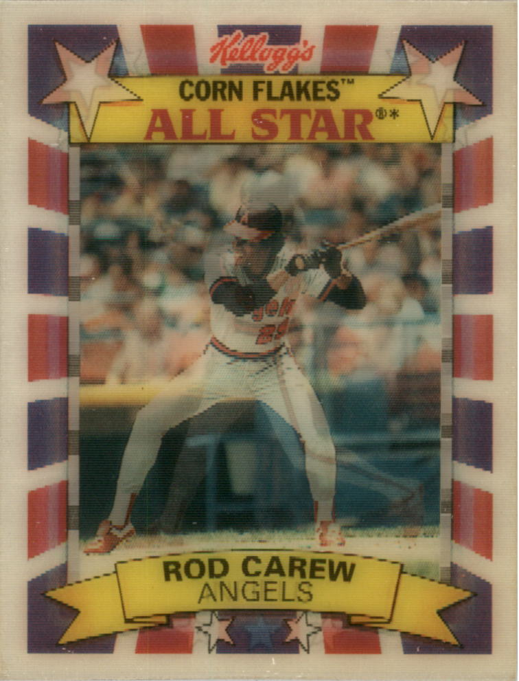 1992 Kellogg's All-Stars #4 Rod Carew