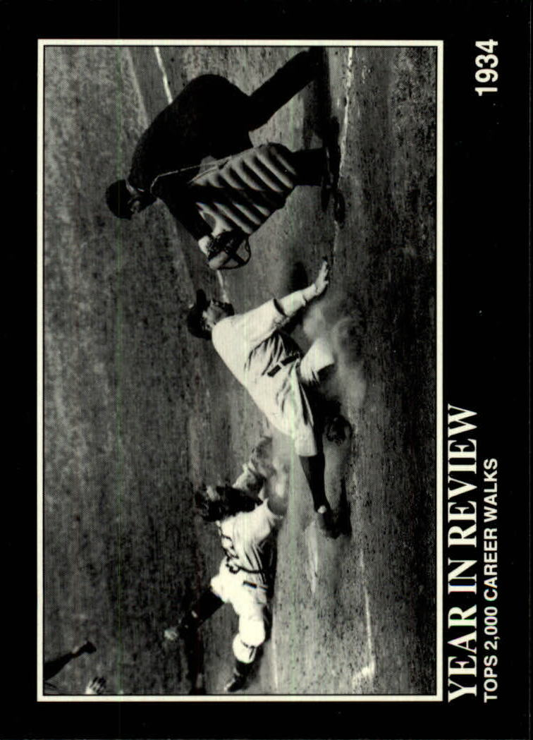 1992 Megacards Ruth #26 Tops 2,000 Career/Walks 1934