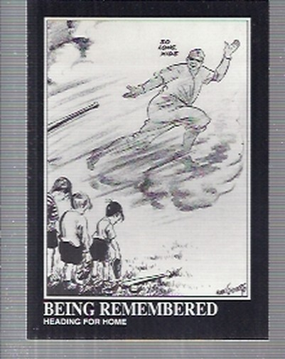 1992 Megacards Ruth #162 Being Remembered/Heading for Home/The Babe Passe