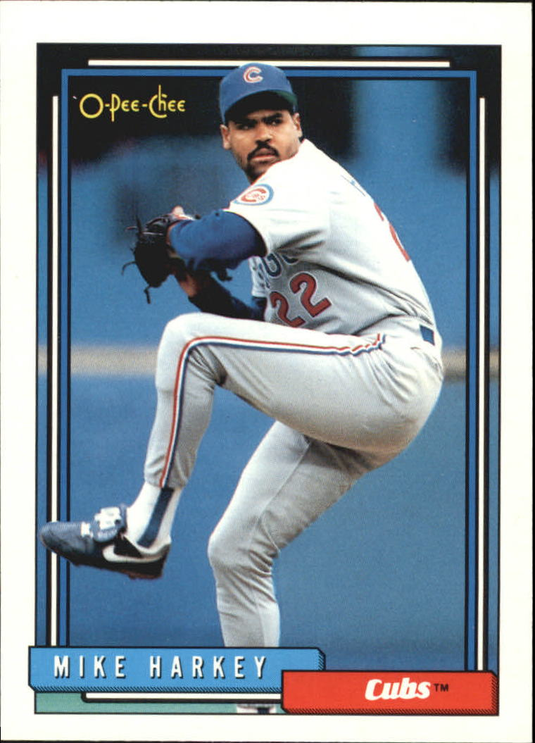 1992 O-Pee-Chee #98 Mike Harkey