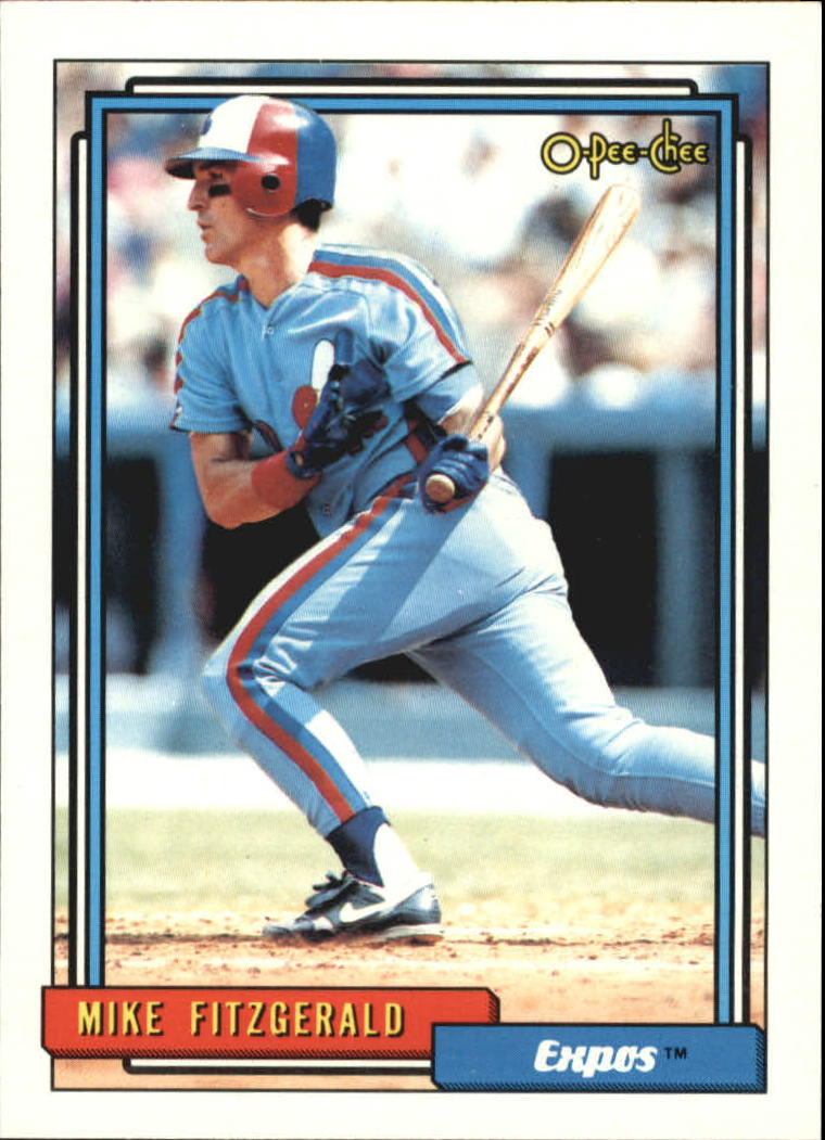 1992 O-Pee-Chee #761 Mike Fitzgerald