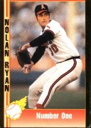 1992 Pacific Ryan Gold #1 Nolan Ryan/Number One