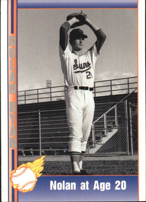 1992 Pacific Ryan Texas Express II #115 Nolan Ryan/at Age 20
