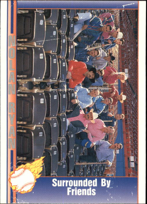 1992 Pacific Ryan Texas Express II #117 Nolan Ryan/Surrounded By Friends