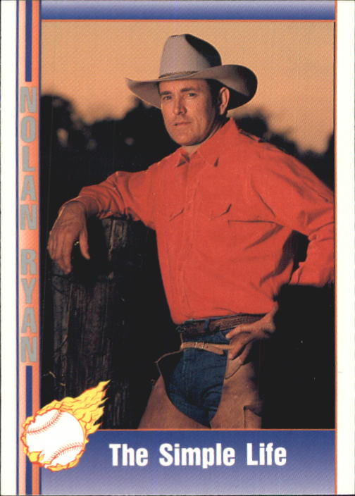 1992 Pacific Ryan Texas Express II #119 Nolan Ryan/The Simple Life