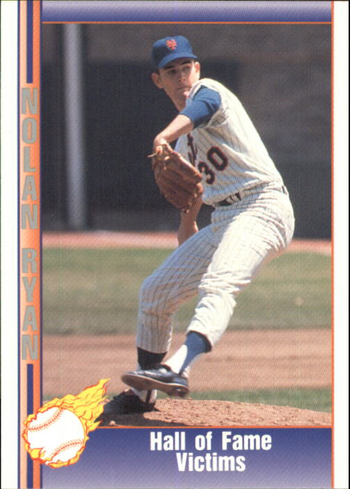 1992 Pacific Ryan Texas Express II #124 Nolan Ryan/Hall of Fame Victims