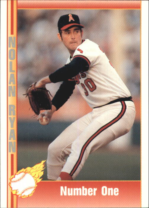 1992 Pacific Ryan Texas Express II #130 Nolan Ryan/Number One