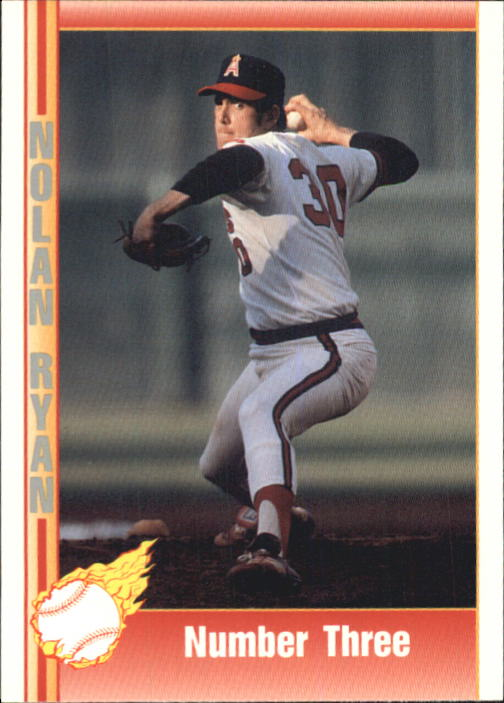 1992 Pacific Ryan Texas Express II #134 Nolan Ryan/Number Three