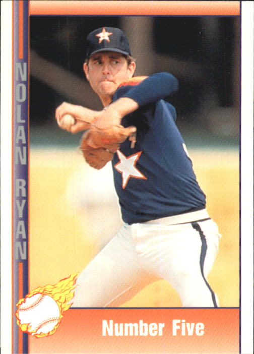 1992 Pacific Ryan Texas Express II #143 Nolan Ryan/Number Five