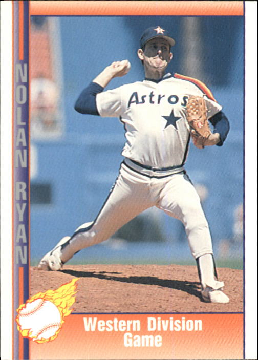 1992 Pacific Ryan Texas Express II #145 Nolan Ryan/Western Division Game