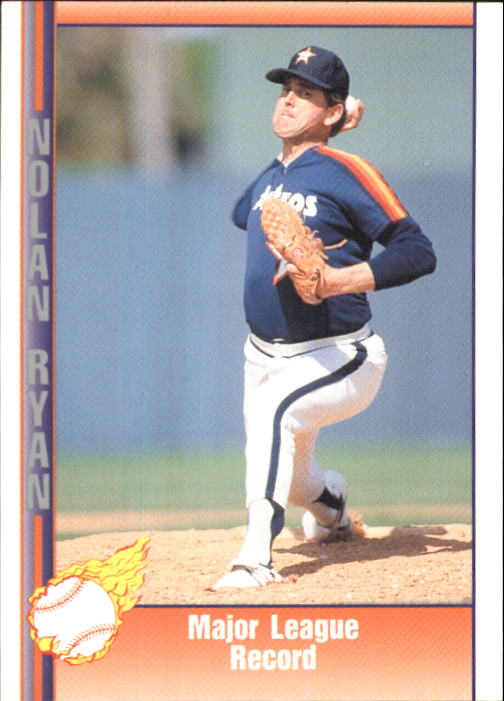 1992 Pacific Ryan Texas Express II #147 Nolan Ryan/Major League Record