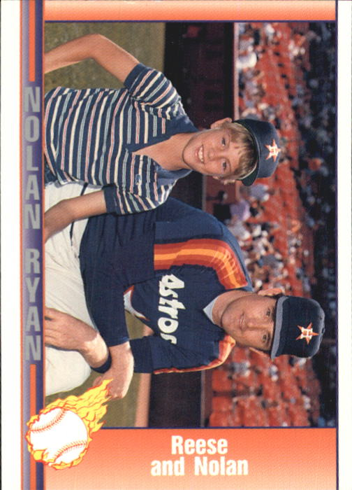 1992 Pacific Ryan Texas Express II #149 Nolan Ryan/Reese Ryan