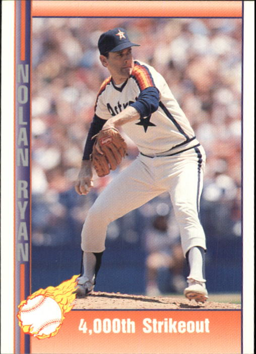 1992 Pacific Ryan Texas Express II #151 Nolan Ryan/4,000th Strikeout
