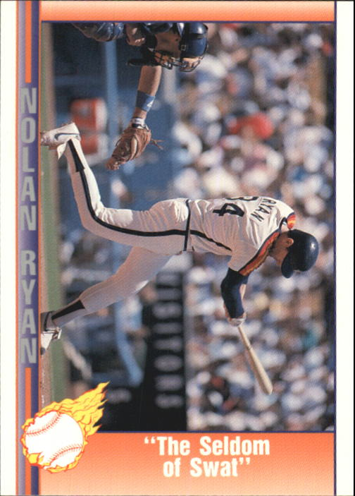 1992 Pacific Ryan Texas Express II #154 Nolan Ryan/The Seldom of Swat