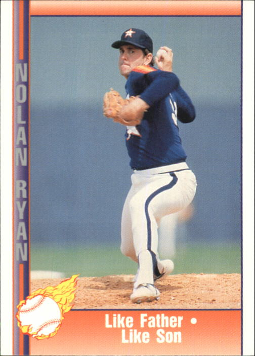 1992 Pacific Ryan Texas Express II #156 Nolan Ryan/Like Father Like Son