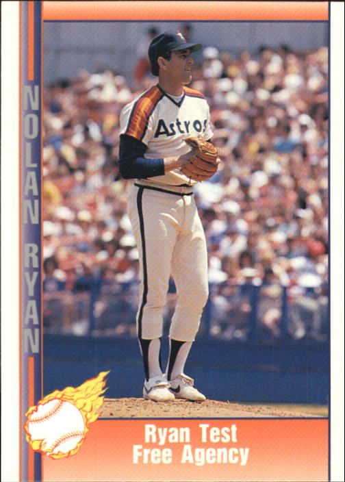1992 Pacific Ryan Texas Express II #160 Nolan Ryan/Tests Free Agency