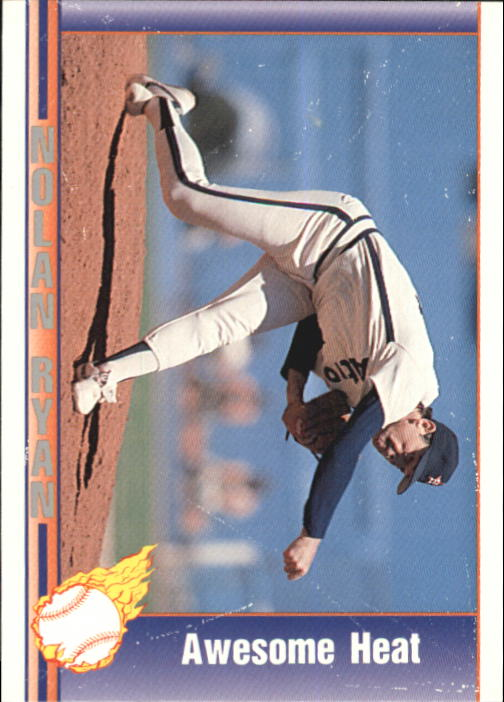 1992 Pacific Ryan Texas Express II #161 Nolan Ryan/Awesome Heat
