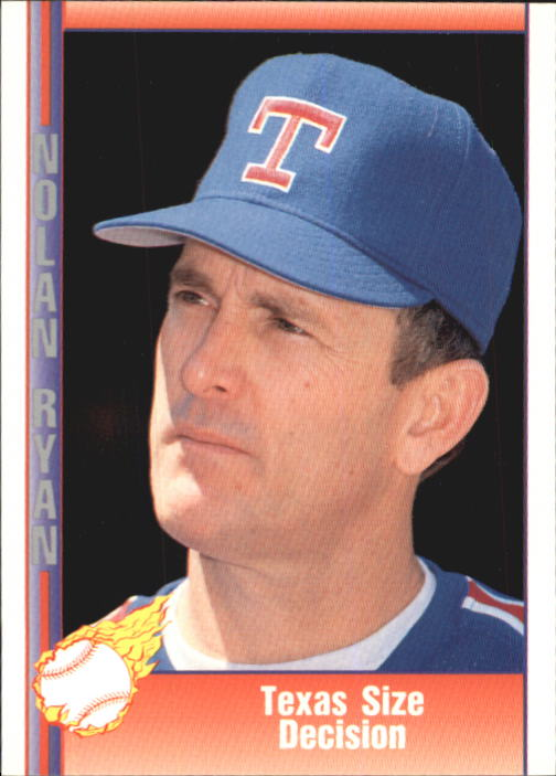 1992 Pacific Ryan Texas Express II #164 Nolan Ryan/Texas Size Decision