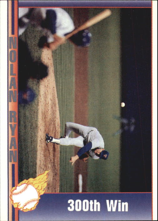1992 Pacific Ryan Texas Express II #171 Nolan Ryan/300th Win