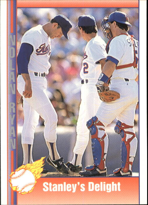 1992 Pacific Ryan Texas Express II #177 Nolan Ryan/Mike Stanley/Stanley's Delight
